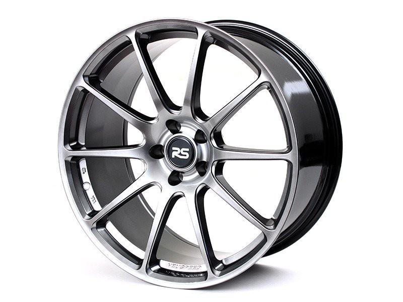 Neuspeed FlowForm RSe102 Wheels   Hyper Black   Audi/Volkswagen 5x112 Bolt Pattern