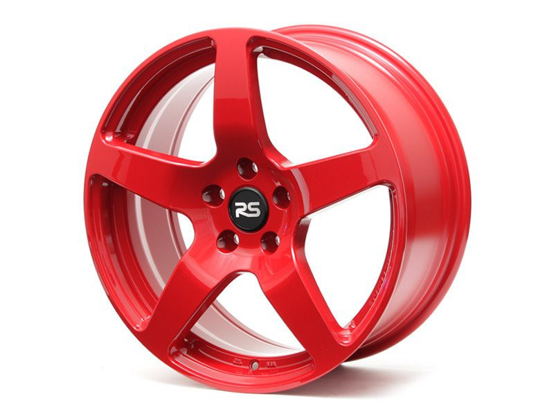 Neuspeed FlowForm RSe52 Wheels | Gloss Red | Audi/Volkswagen 5x112 Bolt Pattern