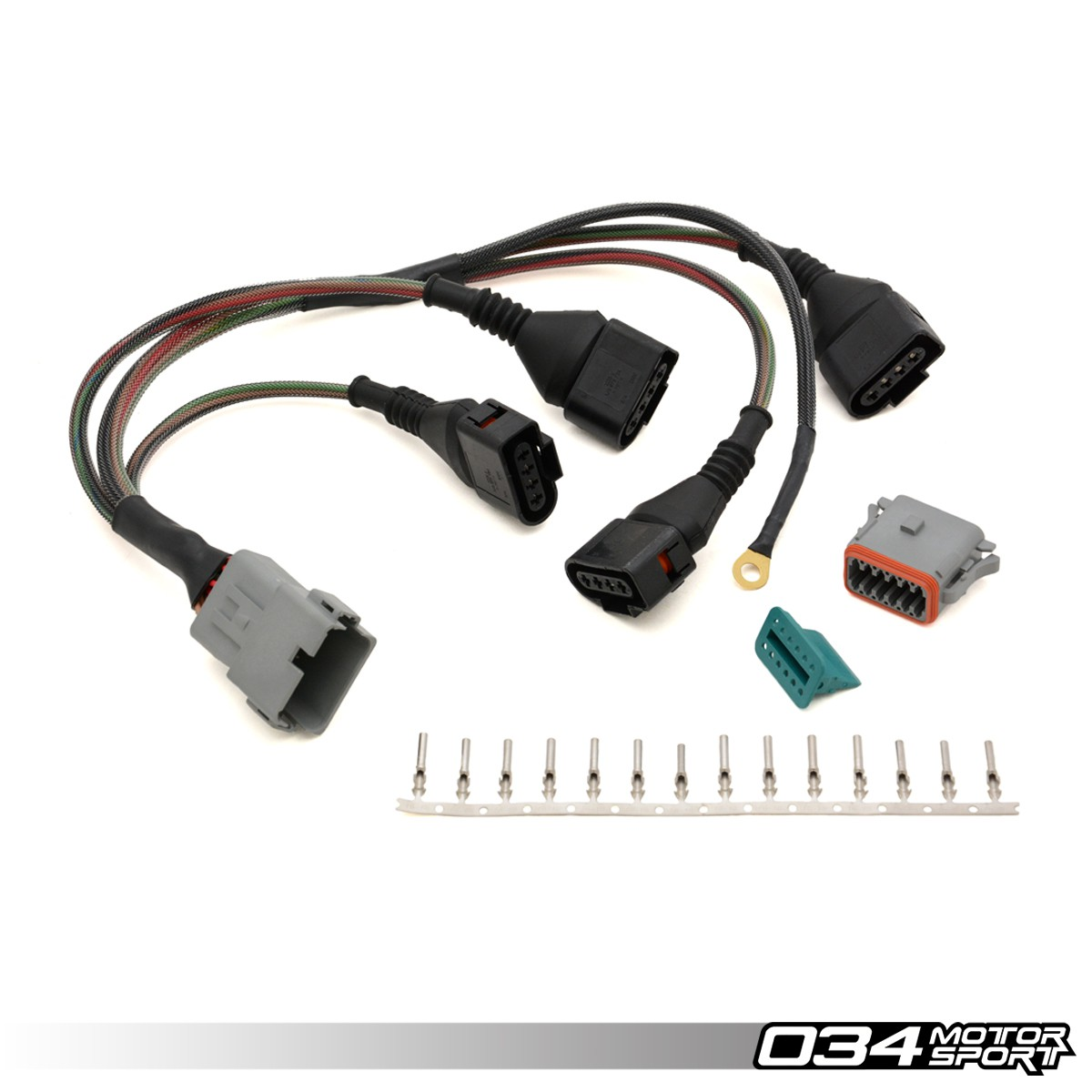 repair update harness audi volkswagen 1 8t with 4 wire coils 034 rh store 034motorsport com vw wiring harness connectors Trailer Wiring Harness Connectors