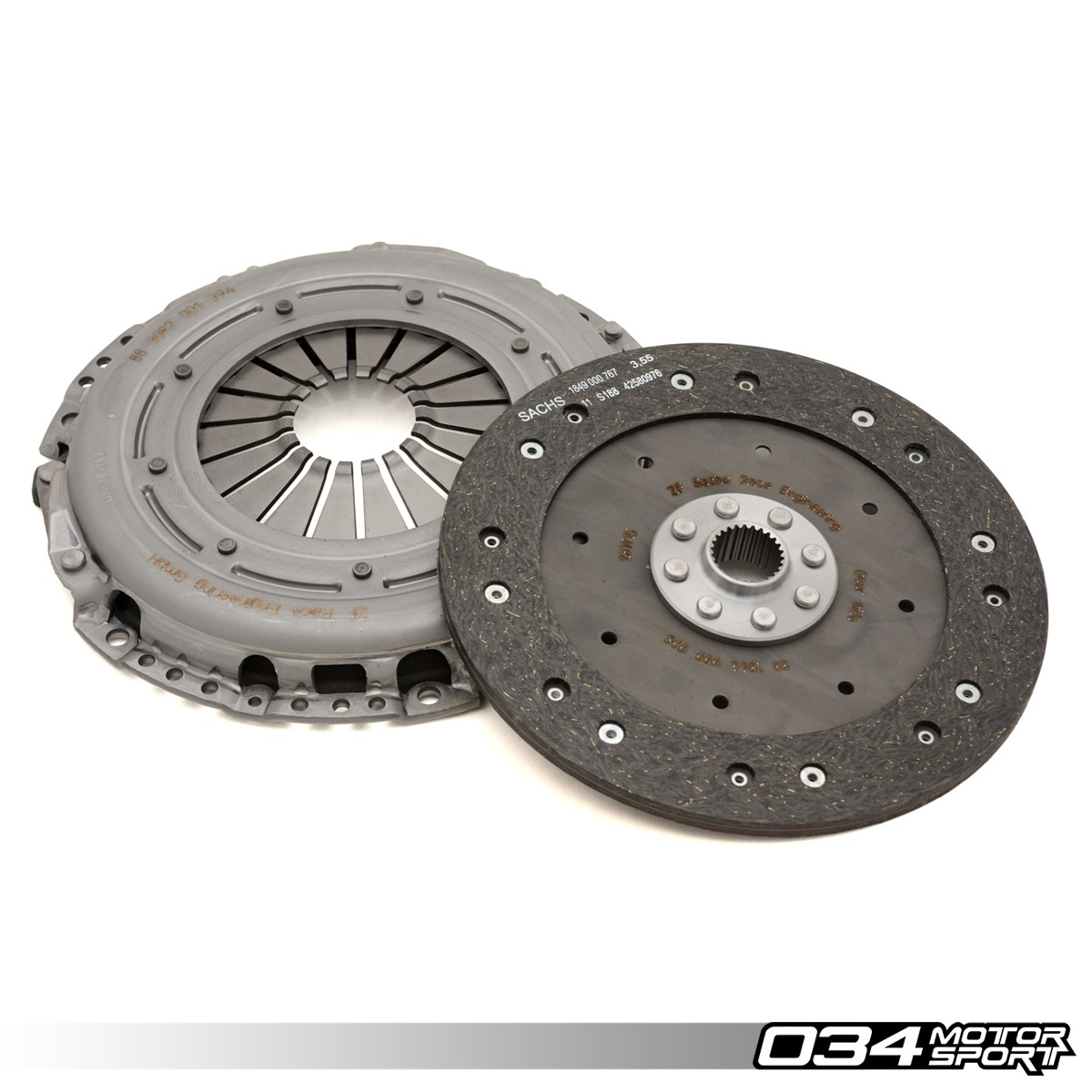 Sachs Performance Audi TT RS 2.5 TFSI Clutch Kit with Organic Disc & Upgraded Pressure Plate | 034-502-0015