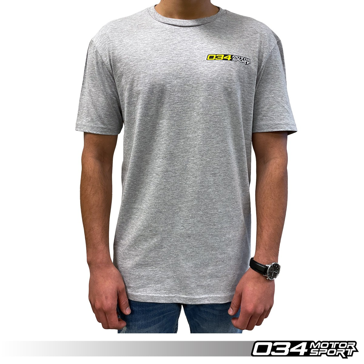 "T-Shirt, ""034Motorsport"", Gray 034-A01-1020"