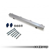 034Motorsport High-Flow Billet Aluminum Fuel Rail for Audi & Volkswagen 1.8T 20V | 034-106-7008