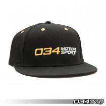 Hat, 034Motorsport Snapback, Front | 034-A01-0002