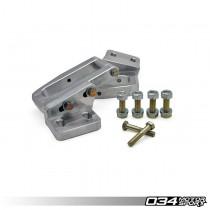 034Motorsport Billet Aluminum Rear Subframe Reinforcement Kit, B4/B5 Audi S2/RS2 & A4/S4/RS4 Quattro | 034-402-7002