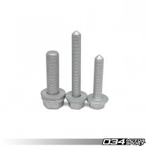 034MOTORSPORT BILLET SPHERICAL DOGBONE MOUNT HARDWARE KIT, 8V/8S AUDI A3/S3/TT/TTS & MKVII VOLKSWAGEN GOLF/GTI/R