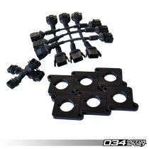 Coil Conversion & ICM Delete Kit, 2.7T to 2.0T FSI Coils | 034-107-7000-BLK