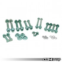 Control Arm Kit Hardware Kit, B5 and C5 with Steel Uprights | 034-401-H000-STL