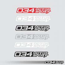 Decal, Die Cut, 034Motorsport Classic | 034-A04-0008