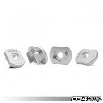 Billet Aluminum MQB Rear Subframe Mount Inserts, 8V Audi A3/S3 Quattro & MkVII Volkswagen Golf R | 034-601-0032