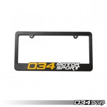 License Plate Frame, 034Motorsport | 034-A03-0000