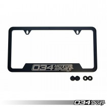 034Motorsport License Plate Frame - Powdercoated Stainless Steel | 034-A03-0001