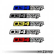 Decal, 034Motorsport, 4"