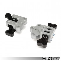 Motorsport Engine/Transmission Mount Pair, 8J/8P Audi A3/TT 3.2L & MkV Volkswagen R32, Billet Aluminum | 034-509-5015