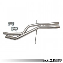 Res-X Resonator Delete and X-Pipe, B8/B8.5 Audi S4 3.0 TFSI