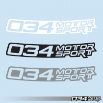 "Windshield Banner, 034Motorsport (36"")"
