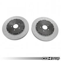 2-Piece Floating Front Brake Rotor Upgrade Kit For Audi R8 Gen 1 & Gen 1.5 034-301-1005