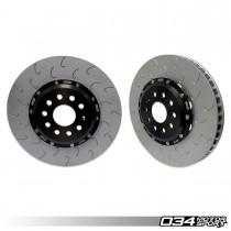 2-Piece Floating Front Brake Rotor Upgrade Kit for Audi 8V/8V.5 S3 and VW Mk7/7.5 GTI/R 034-301-1001