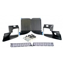 Wagner Tuning Upgraded Side-Mount Intercooler (SMIC) Kit, C5 Audi RS6 4.2T