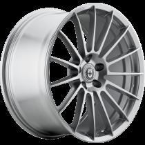 HRE FlowForm FF15 Wheels   Liquid Silver   Audi/Volkswagen 5x112 Bolt Pattern with 57.1mm Center Bore