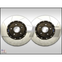 JHM Lightweight 2-Piece Front Brake Rotor Pair for B8/B8.5 Audi S4/S5 | JHM-1025x345x30
