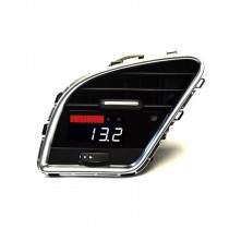 P3Cars (White/Red) B8 Audi A4/S4/RS4 & A5/S5/RS5 Gauge & Vent Integrated Digital Interface | P3AB8