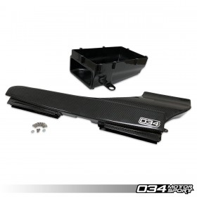 X34 Carbon Fiber Lower Intake Box and Fresh Air Duct for Audi 8S/8V.5 TTRS/RS3