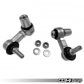 034Motorsport Dynamic+ Adjustable Rear Sway Bar End Link Kit for MkVII VW GTI/GLI/R/Jetta and 8S/8V/8V.5 Audi TT/TTS/TTRS/A3/S3/RS3