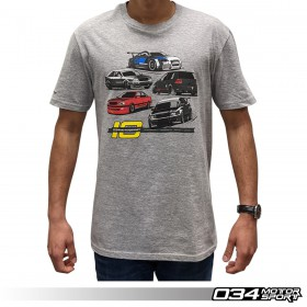 034Motorsport 10th Anniversary Commemorative T-Shirt