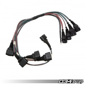 034Motorsport C4 Audi UrS4/UrS6 & S2/RS2 I5 20VT AAN/ABY/ADU Coil Pack Update Harness for 2.0T FSI Coils