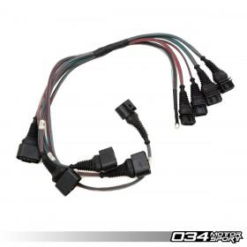 034Motorsport C4 Audi UrS4/UrS6 & S2/RS2 I5 20VT AAN/ABY/ADU Coil Pack Update Harness for 2.0T FSI Coils