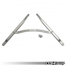 034Motorsport Front Strut Brace, B9 Audi A4/S4, A5/S5/RS5, Allroad, Billet Aluminum