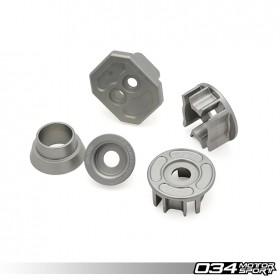 034Motorsport Drivetrain Mount Insert Package, C7/C7.5 Audi A6/S6/RS6 & A7/S7/RS7, Billet Aluminum