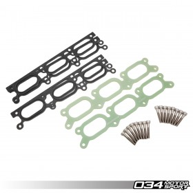 Intake Manifold Spacer, Phenolic, Audi B5 A4/S4/RS4 C5 A6/Allroad 2.7T & 2.8L 30V V6