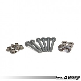 034Motorsport Stainless Steel Subframe Locking Collar Upgrade Kit, MkV/MkVI Volkswagen Golf/Jetta/GTI/GLI & 8P Audi A3