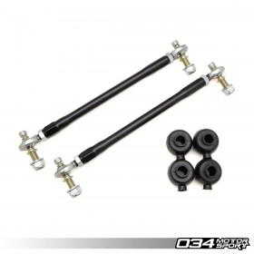 Sway Bar End Link Pair, Motorsport, Front, Adjustable, 8J/8P/8V/8S Audi & MkV/MkVI/MkVII Volkswagen