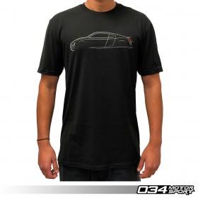 034Motorsport T-Shirt, Audi R8 Lines