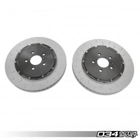 2-Piece Floating Front Brake Rotor Upgrade Kit For Audi R8 Gen 1 & Gen 1.5