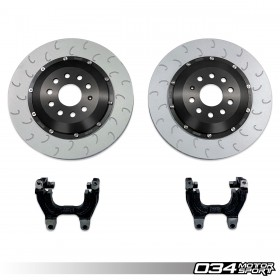 2-Piece Floating Rear Brake Rotor 350mm Upgrade for MQB VW & Audi