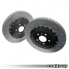 2-Piece Floating Rear Brake Rotor Upgrade Kit, Gen 1 & Gen 1.5 R8