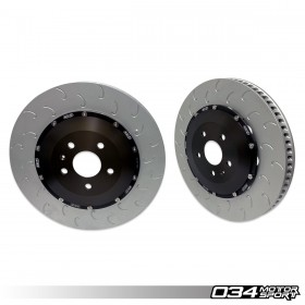 2-Piece Floating Front Brake Rotor Upgrade Kit for Audi 8V.5 RS3