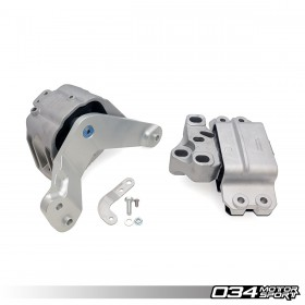 Engine/Transmission Mount Pair, 8J Audi TT RS 2.5 TFSI, 6-Speed Manual, Street Density