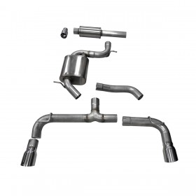 Corsa Performance MKVII Volkswagen Golf/GTI 2.0 TSI Cat-Back Exhaust System