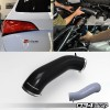 Silicone Throttle Body Inlet Hose, High-Flow, B8 Audi Q5/SQ5 3.0 TFSI | 034-112-6017