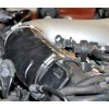 MAF Hose, B5 RS4, Silicone Reinforced Installed | 034-108-3009