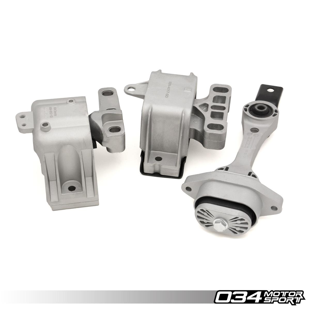 Motor Mount Set, Density Line, MkIV Volkswagen, 8L & 8N Audi, 1.8T, 2.0L, TDI - 034-509-5007 ...