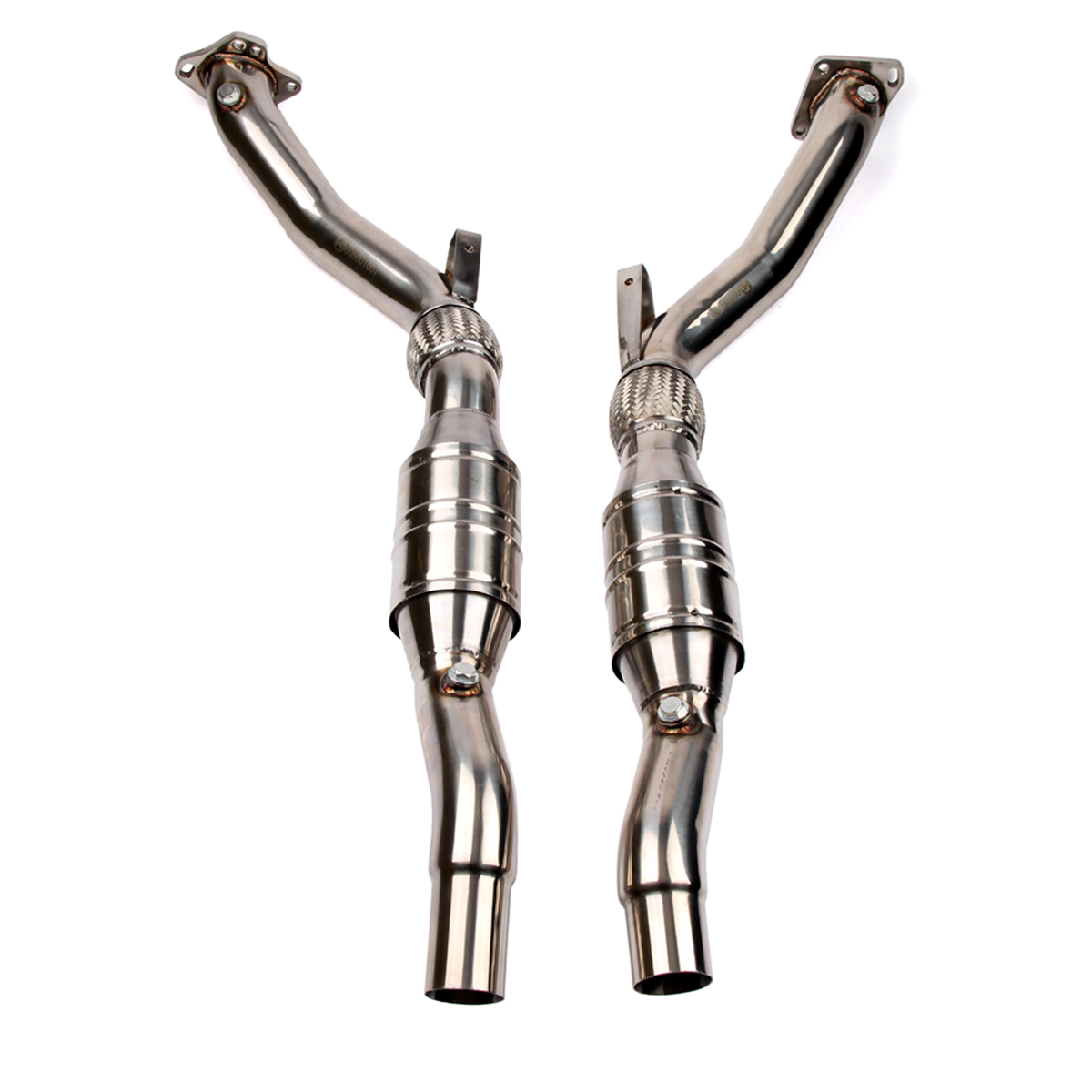 wagner 3 downpipe kit b5 audi s4 rs4 2 7t wag. Black Bedroom Furniture Sets. Home Design Ideas