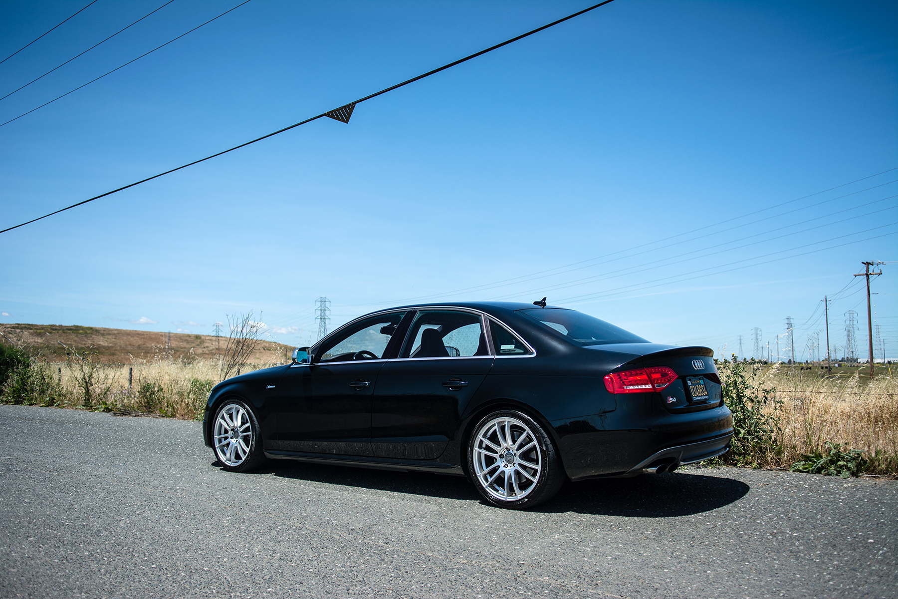 Brilliant Black 2011 Audi S4 Tuned by 034Motorsport