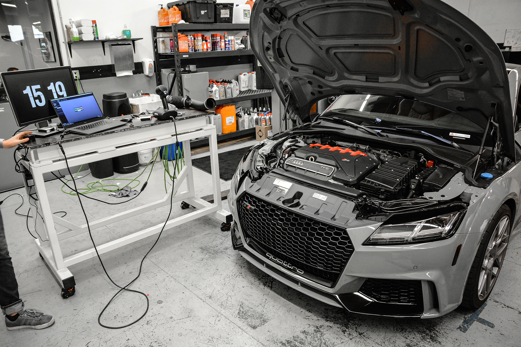 8S Audi TTRS Product Development Vehicle