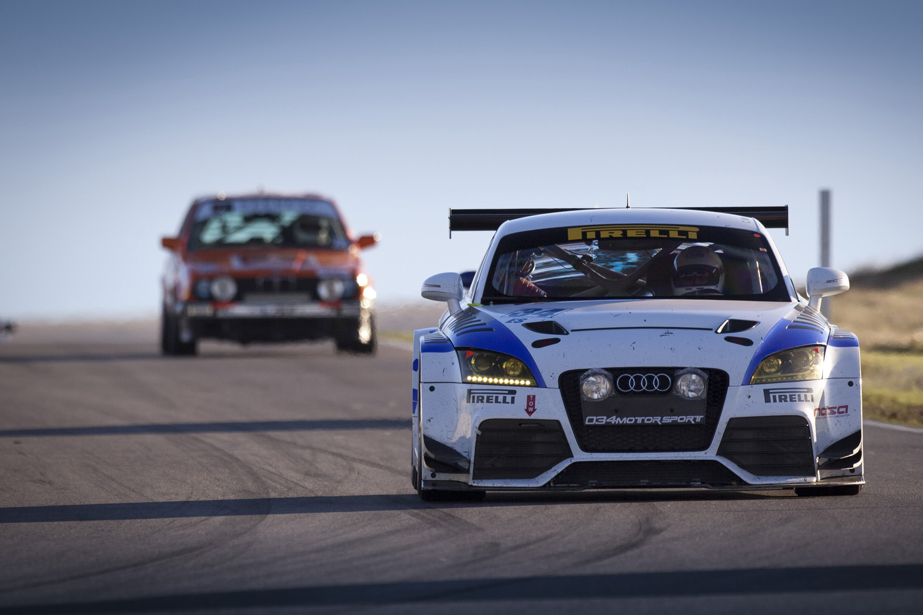 Audi TTRS VLN at 2012 NASA 25 Hour of Thunderhill