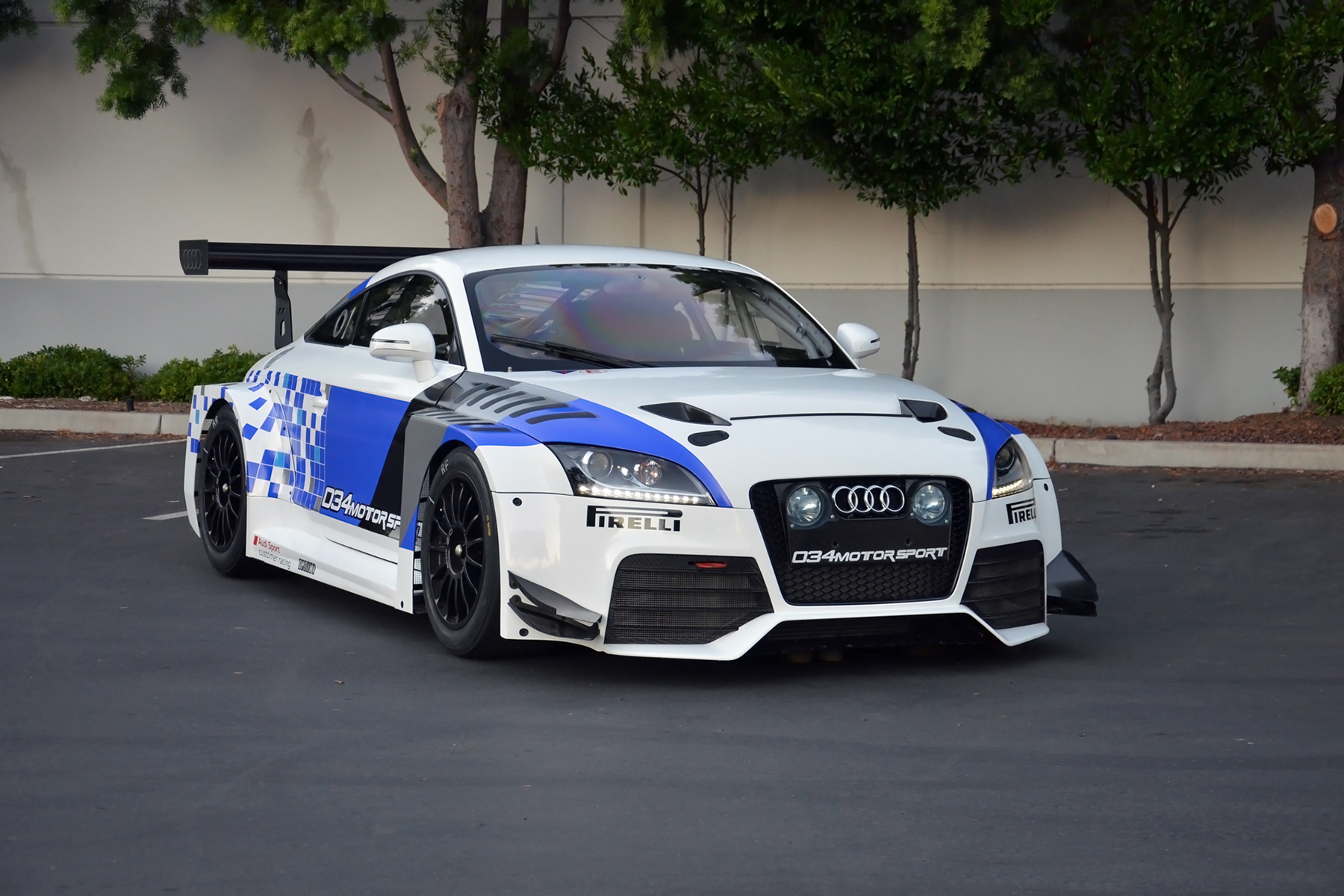 Audi TTRS VLN Race Car